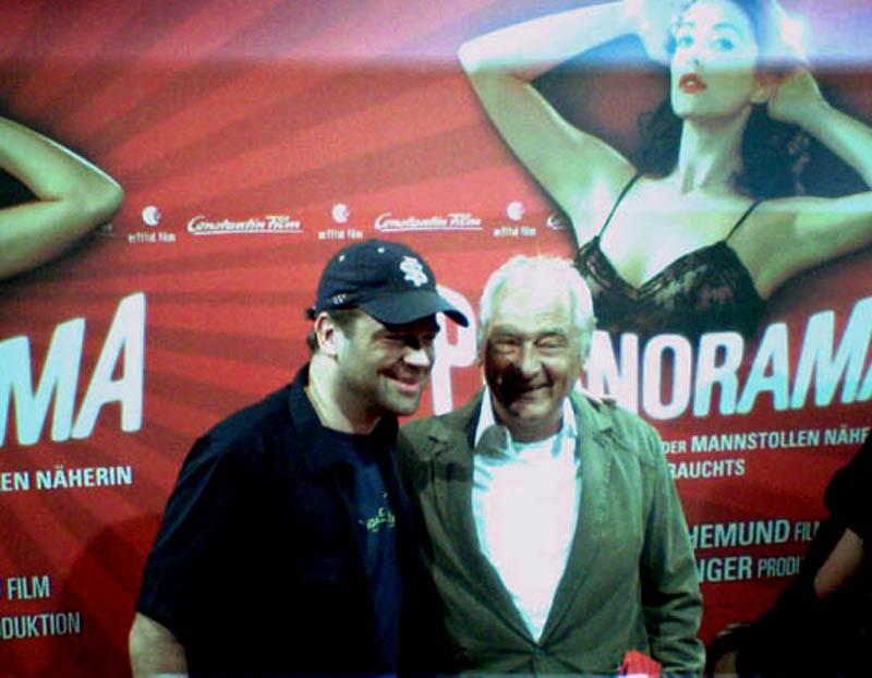 Marc und Sigi Rothemund auf der Premiere von PORNORAMA (Foto: B. Wildegger)