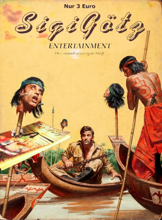 Alternative Cover (Gestaltung: Christian Mraseque)